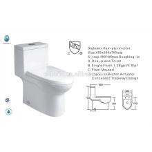 CB-9518 China exportador UPC Single flush banheiro novo design banheiro americano