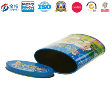 Food Grade Round Coin Tin Box Manufacture Jy-Wd-2015122820