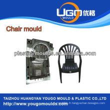 Moule en aluminium en jambe en plastique et moule pour chaise de jardin et moulinet pour faute professionnelle