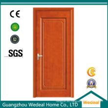 Puerta de PVC / UPVC laminado / puerta de palisandro de fábrica de suministro (WDP5050)
