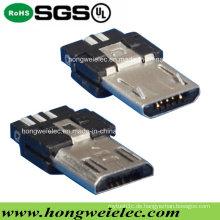 Männlicher 5pin super dünner Art Mikro-USB-Verbindungsstück