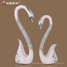 wholesale swan shaped christmas wedding decoration art and craft