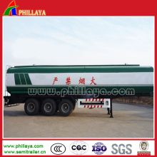 Fuel Transport Semi Trailer Stainless Steel Tank