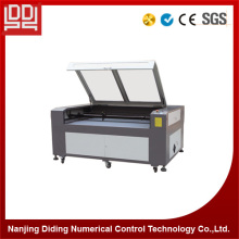 Double Heads Cnc Wood Laser Engraving Machine