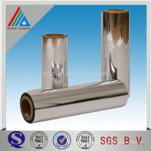 Película BOPP metalizada de alta barrera de aluminio para laminación / impresión