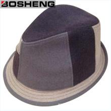 Chapeau de feutre à laine structurée unisexe et synthétique unisexe