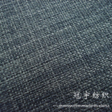 2 Tone Color Polyester Linen Fabric for Decoration