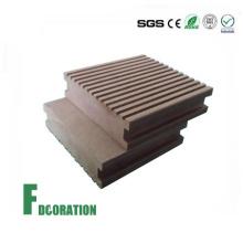 Solid Low Cost Wood Plastic Composite Decking Floor