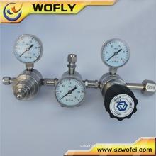3000PSI regulador de baja presión de doble etapa