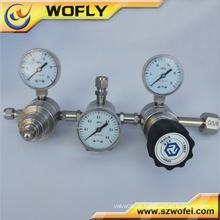 3000PSI duplo estágio regulador de baixa pressão