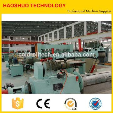 Alta Qualidade HR CR SS GI Máquinas de Corte de Aço Novo ou Usado