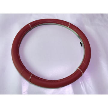 Red color steering wheel covers