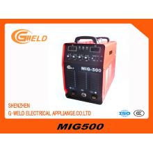 Inverter IGBT MIG máquina de soldadura multifunción
