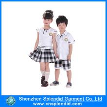 Bulk Großhandel verschiedene Farben Schuluniformen für Kinder