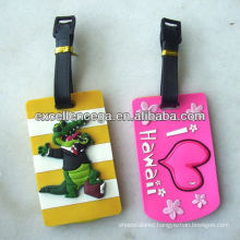 Popular luggage tag rubber loop