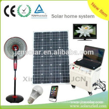 high efficiency off- grid portable solar power generator system for camping