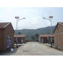 8m 60W LED Solar Street Lighting System with Mono Solar Panels