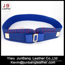 Fashion Ladies Butterfly Knot Buckle Elastic Belt