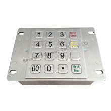 Pinpad de criptografia ATM IP65 robusto com certificação PCI