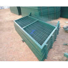 PVC Coated Frame Wire Mesh Fence Panel (TS-L139)