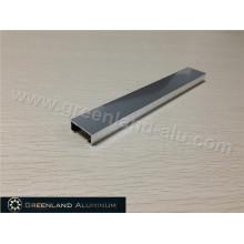 Plata brillante Listello de aluminio