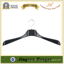 Thick Antique Black Plastic Jacket Hanger