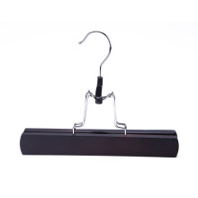 black color retail custom wooden hair hanger extension