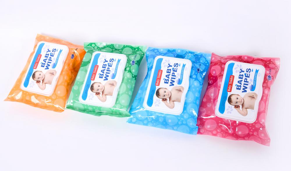 25 Pcs Soft and Tender Biodegradable Hydrophilic Spunbond Baby Wet Wipes ( Baby Wipes)