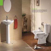 Toilettes modernes de salle de bains