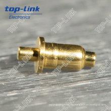Doppelkopf Pogo Pin (Einzelstift, federbelasteter Stecker)