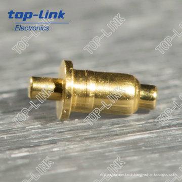 Double tête Pogo Pin (broche unique, connecteur à ressort)