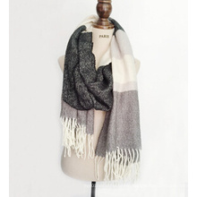 Woven Fabrics Chenille Scarf for Lady