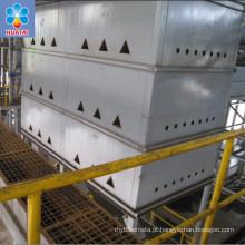 Maquinaria de refino bruta do óleo de palma, equipamento de planta da refinaria de óleo da palma