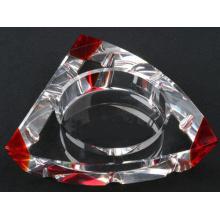 Nuevo diseño Tringle Cenicero de cristal de cigarro (cenicero de fumar cigarro) (JD-YG-006)