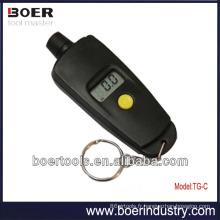 Indicateur numérique de pression des pneus avec porte-clés