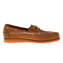 European Style Men Leather Boat Shoes