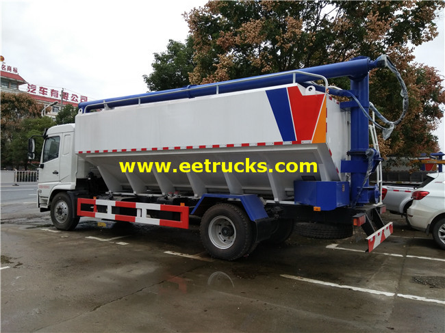 Bulk Cement Delivery Truck