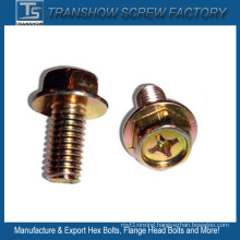 M10X16 Cross Recess Flange Bolts