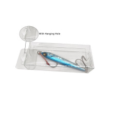 Custom Clear Plastic Fishing Lure Packaging Box
