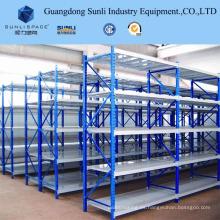 Estante de estantería ajustable de metal para almacén
