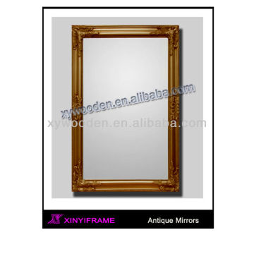 Decorative Large Wall Classic Wooden Mirror
