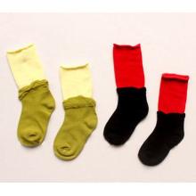 Kinder Cotton Crew Socken mit Doppelwelt (KA025)