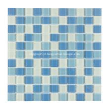 Telha de mosaico de vidro de cristal de piscina