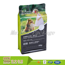 La categoría alimenticia que se puede volver a sellar hecha a la medida Ocho sellado lateral del bocado del alimento del alimento del animal doméstico acaricia el bolso de empaquetado