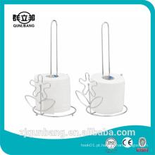 Suporte de toalha de papel de metal doméstico / Suporte de papel higiênico / Toalheiro