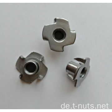 Standard 4Prongs verzinkte T-Mutter