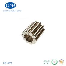 Магниты из спеченного цилиндра Стандарт высокой мощности N35