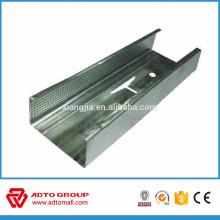 Perfiles de acero para tablarroca Pernos de metal galvanizado