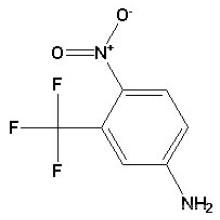 4-Nitro-3-Trifluoromethyl Aniline CAS No. 393-11-3