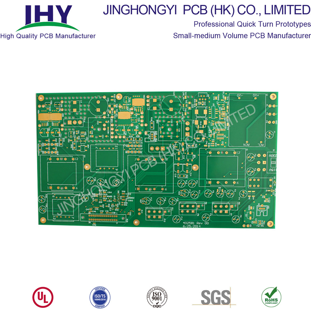 ENIG 1.6mm Green Rigid PCB